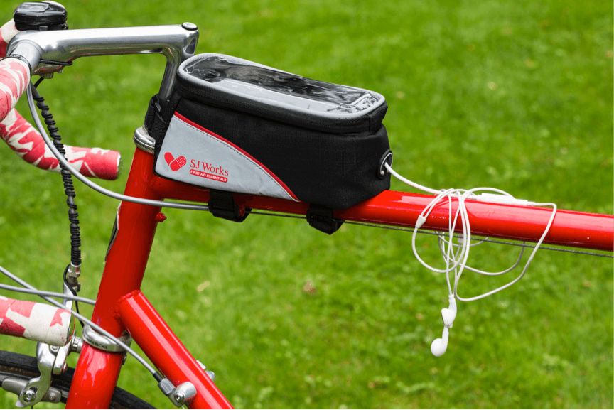 SJ WORKS Smart phone solution bicycle first aid kit
