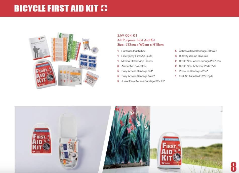 SJ WORKS All purpose Mini First Aid kit